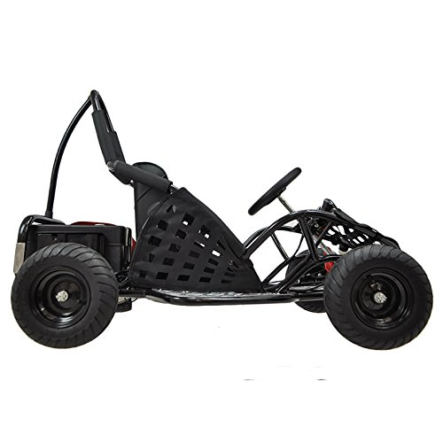 Go-Bowen Baja 1000W 48V Electric Kids Go-Kart – Black | Go Karts For