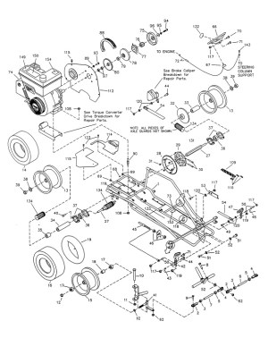 Manco 485 Go Kart Parts  Manco 486 Parts Breakdowns