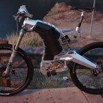 M55 Hybrid Elektrikli Bisiklet Sahil Yan