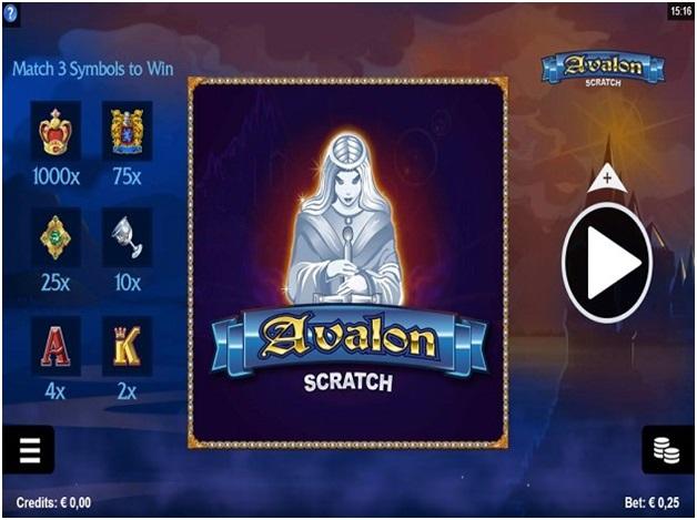 Avalon scratch
