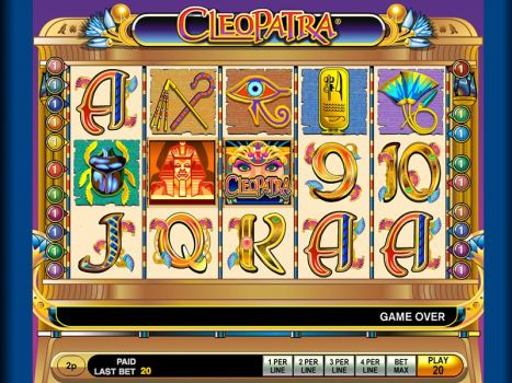 Book of Cleopatra Slot Games