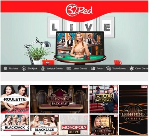 live casino 32 red casino