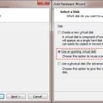 Edit Virtual Machine – Add Harddisk