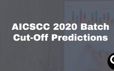 AICSCC 2020 Batch cutoff Predictions