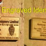 engraved access cards