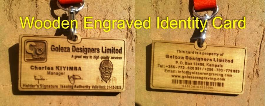 Engraved Access Cards are Unique and Forge-proof. No Doubt!