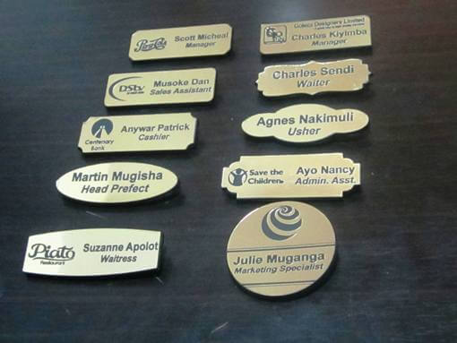 Engraved Name Tags – Where to Buy Quality Name Badges in Uganda