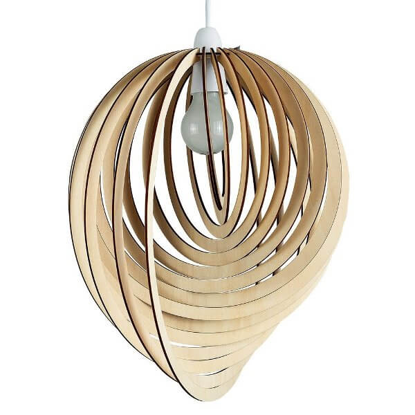 Snail Shell Lampshade that Makes Everyone Envious of your Room