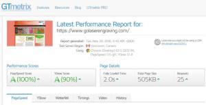 GTmetrix Speed Analyzer