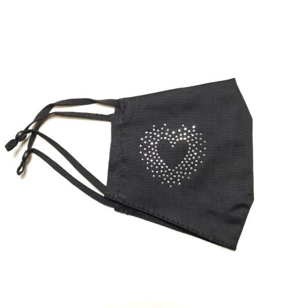 Zaščitna maska - srce