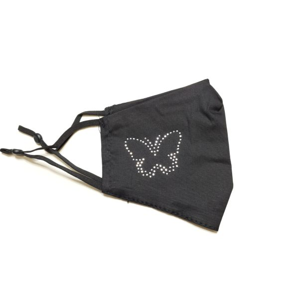 zaščitna maska - metulj