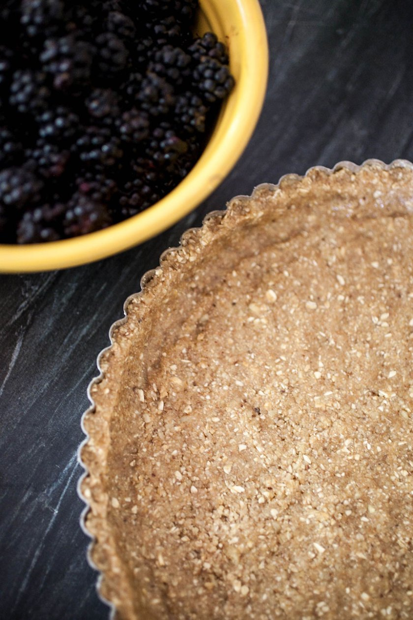 Fresh Blackberry Tart + Walnut Crust_11_Gold&Thyme