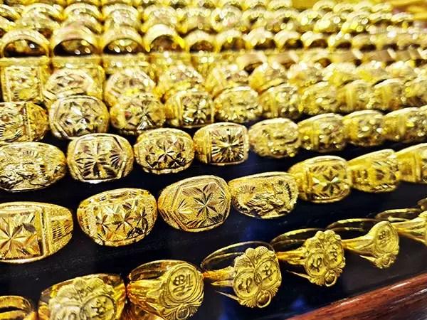 แหวนทองรูปพรรณ