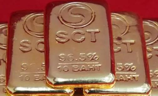 ภาพทองคำแท่ง SCT