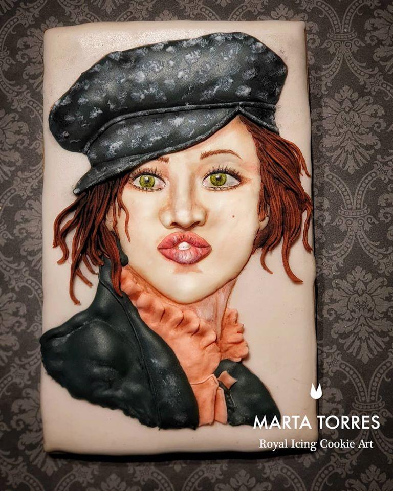 Dekorierter Keks von Marta Torres