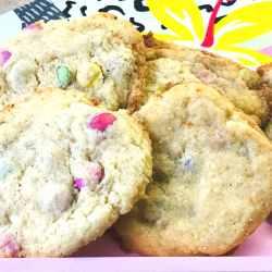 Bunte Smarties®-Cookies