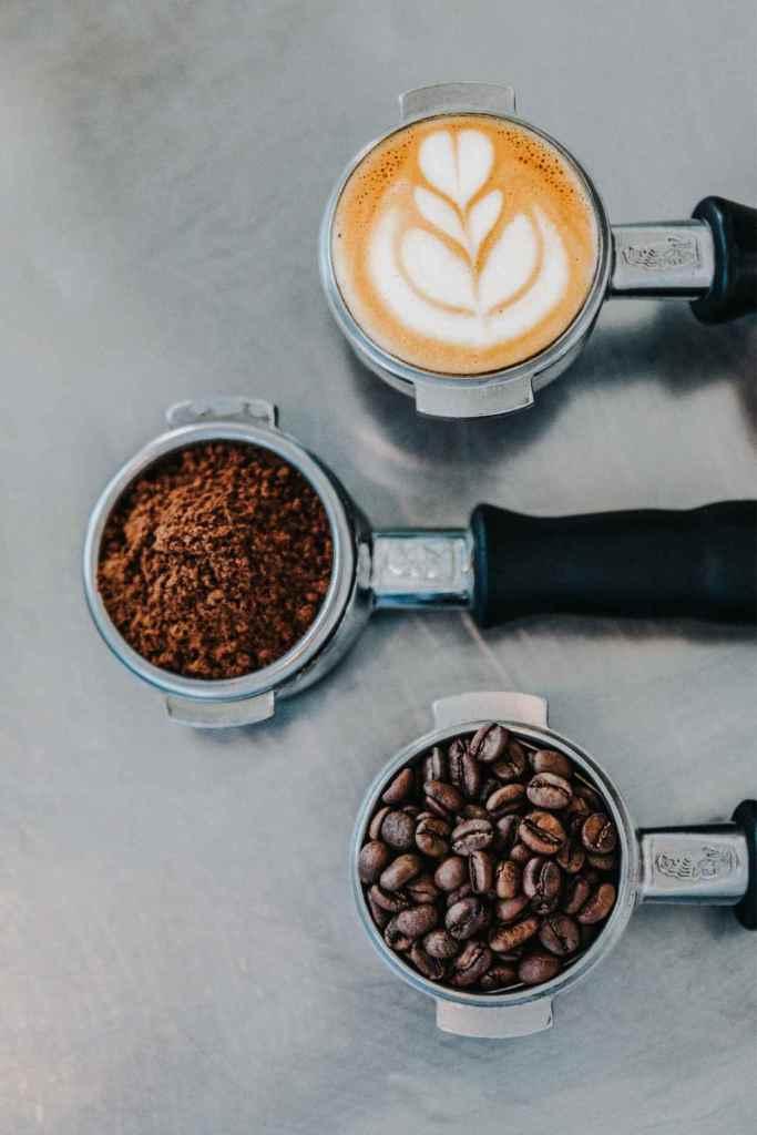 Kaffee, Kaffeepulver & Kaffeebohnen