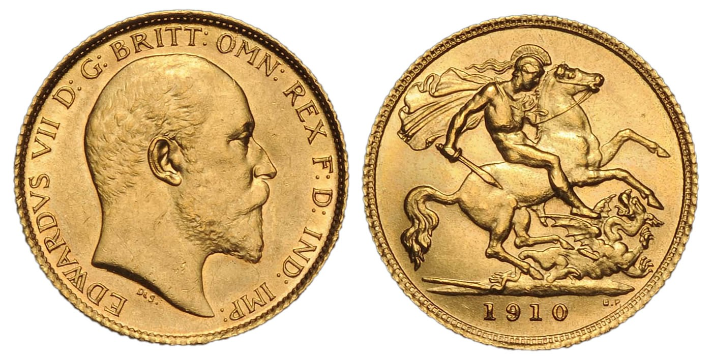 British Sovereigns Or Kings Pre 1933 Gold Coins