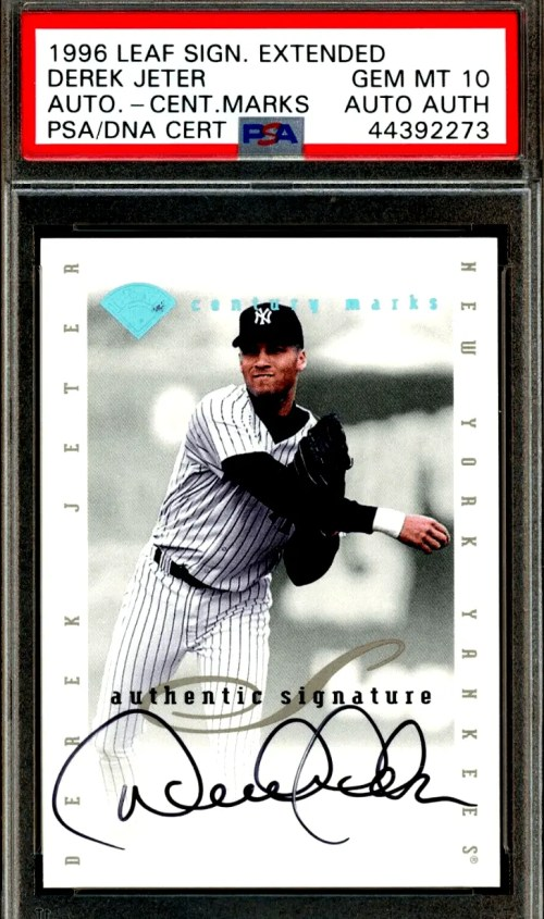 7 Most Valuable Baseball Cards from the 1990's