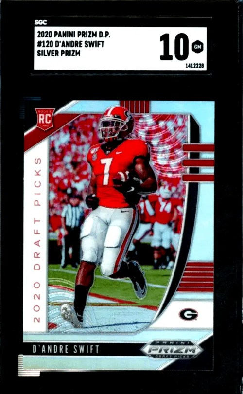 D'Andre Swift Rookie Card