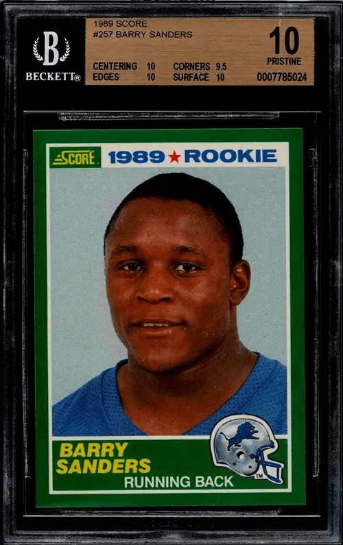 best Football Running Back Rookie Cards