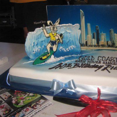GCH3 40th Birthday Cake