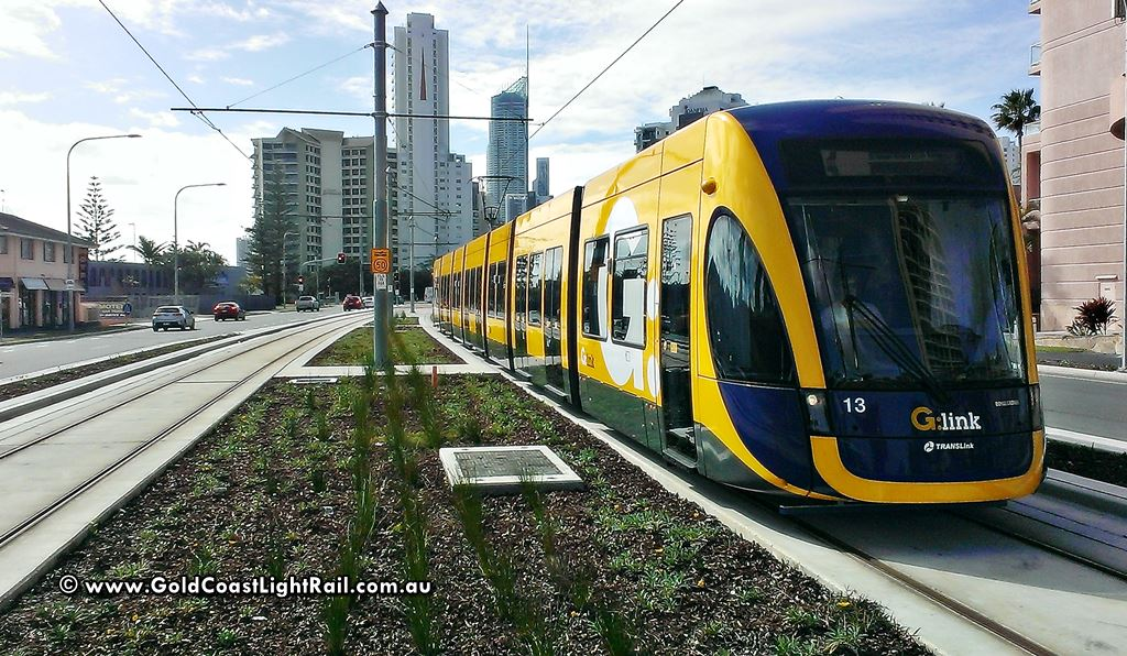 Gold Coast Light Rail Route - Gold Coast Light Rail