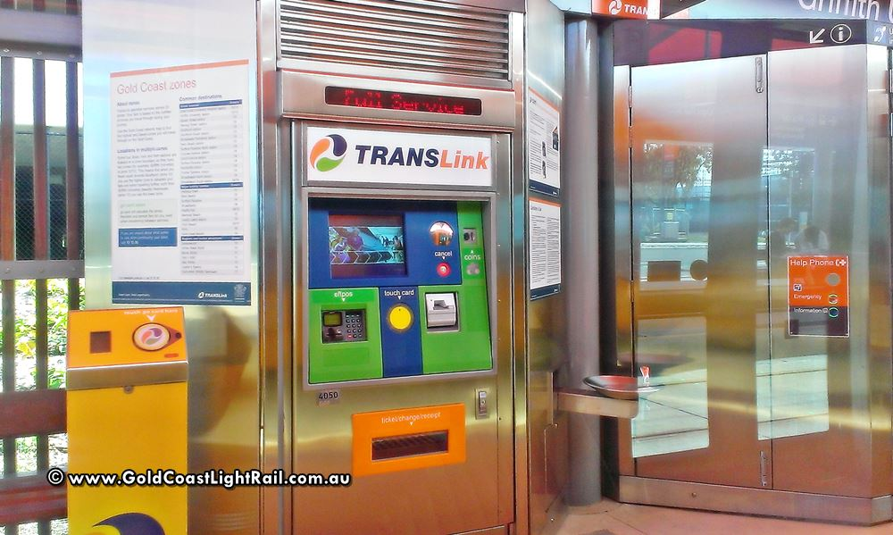 Translink Go Card Machine