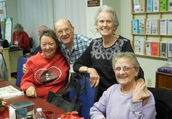 friends at the senior community center near nevada city