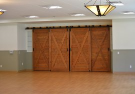 beautiful barn doors in love building