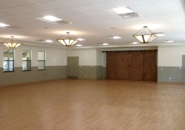 image of dance floor in love building