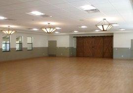 image of dance floor in love building