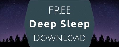 free deep sleep download Goldcrest Hypnotherapy