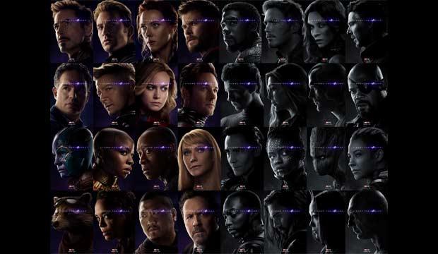 avengers endgame 32 character
