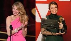 Julia Roberts geeks out over Olivia Colman and her 'wonderful' Oscar win
