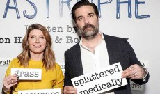 'Catastrophe' creators and stars Sharon Horgan and Rob Delaney on sticking the landing for the show's final scene [EXCLUSIVE VIDEO INTERVIEW]