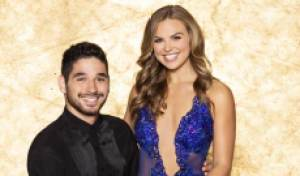 Hannah Brown gave Alan Bersten her rose on 'Dancing with the Stars,' but will he get her the Mirror Ball? Watch their 1st dance
