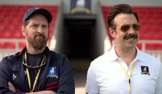 'Ted Lasso' with Jason Sudeikis: 2021 Golden Globe Awards ...