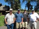 Ray Roebacker, Ryan Huffman, Justin & Ron Marshall