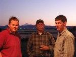 Weston, Matt and Dan At Sunset