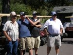 Ray Roebacker, Ryan Huffman, Justin Marshall and Ron Marshall