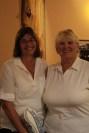 Dianne Spires won Women's Long Drive and Jan Walker won Women's KP at Gold Dust's 2015 Open House Field Day Golf Scramble.