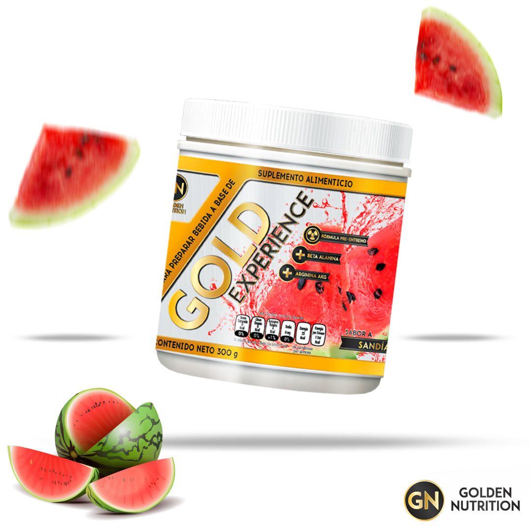GOLDEN NUTRITION – GOLD EXPERIENCE