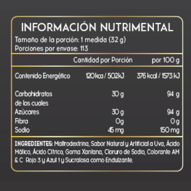 GOLDEN NUTRITION - GOLDEN CARBS