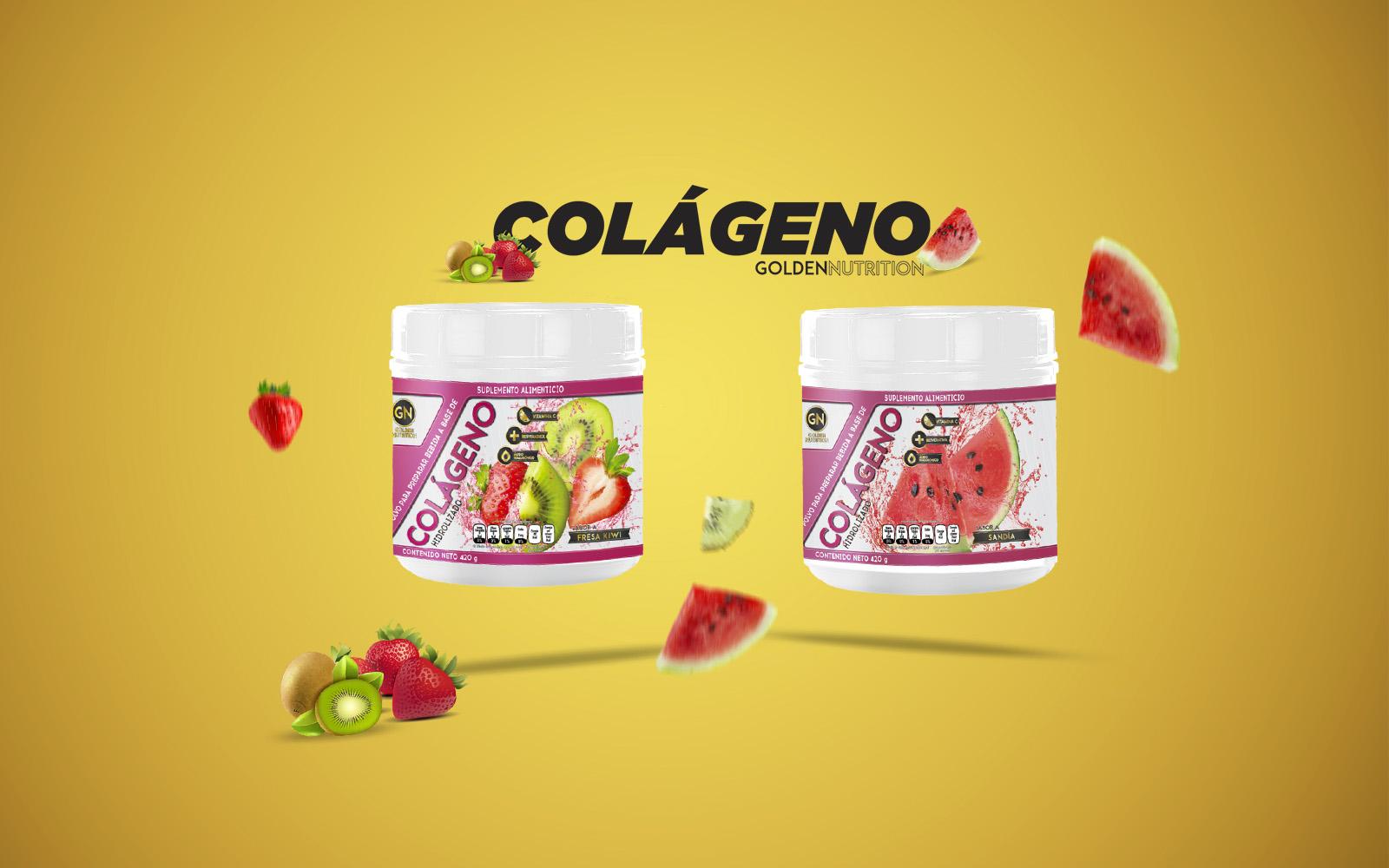 GOLDEN NUTRITION - COLAGENO
