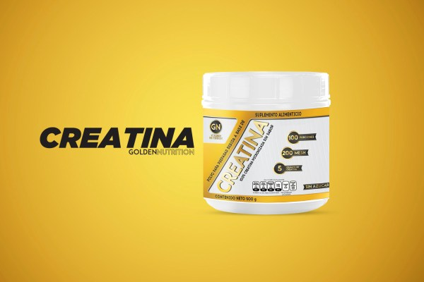 GOLDEN NUTRITION - CREATINA