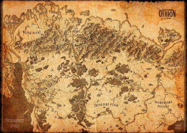 Mapa Dračí Hlídky