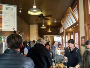 Das Handlebar Cafe in Santa Barbara wird geführt von Aaron Olson, Ex-Profi bei Saunier Duval & T-Mobile