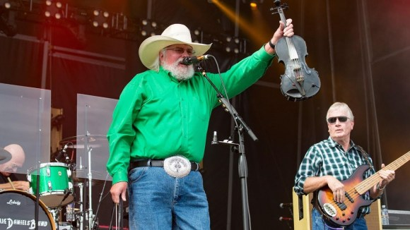 Charlie Daniels - One of the best violin and fiddle players