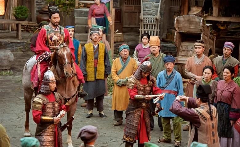 "Scene from ""Mulan"""